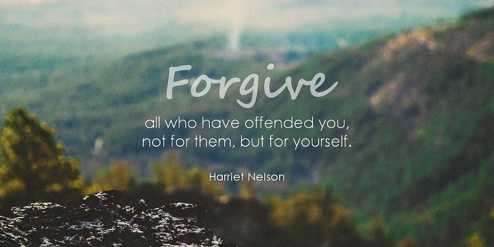 forgive often