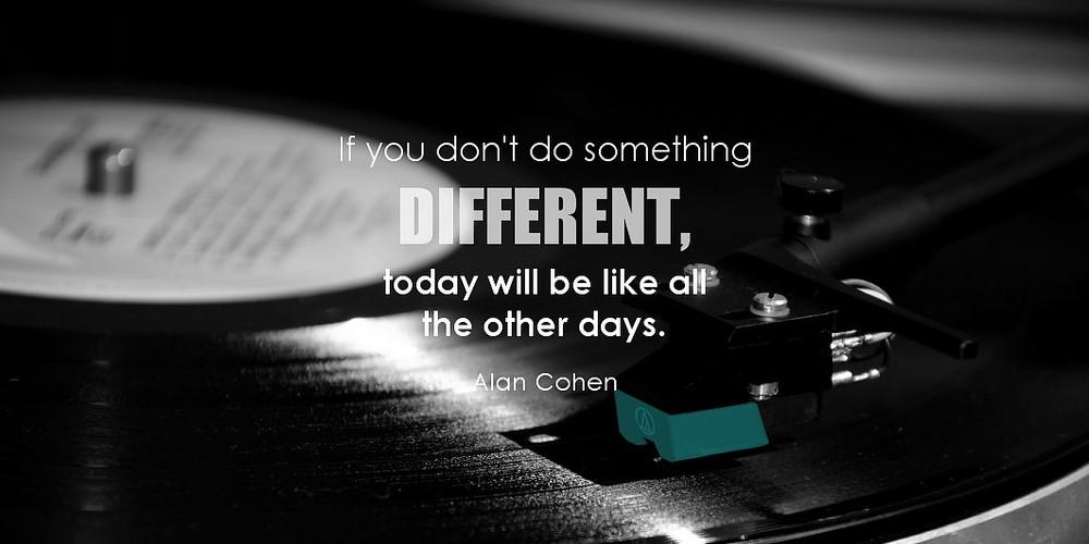4. Do Something New