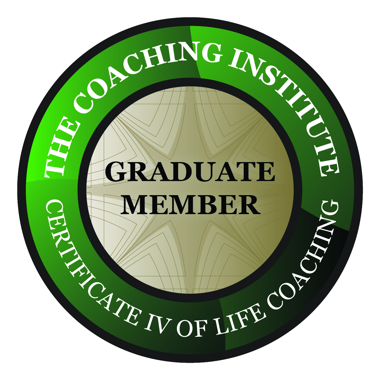 Certificate IV of Life Coaching  Members Badge High Resolution
