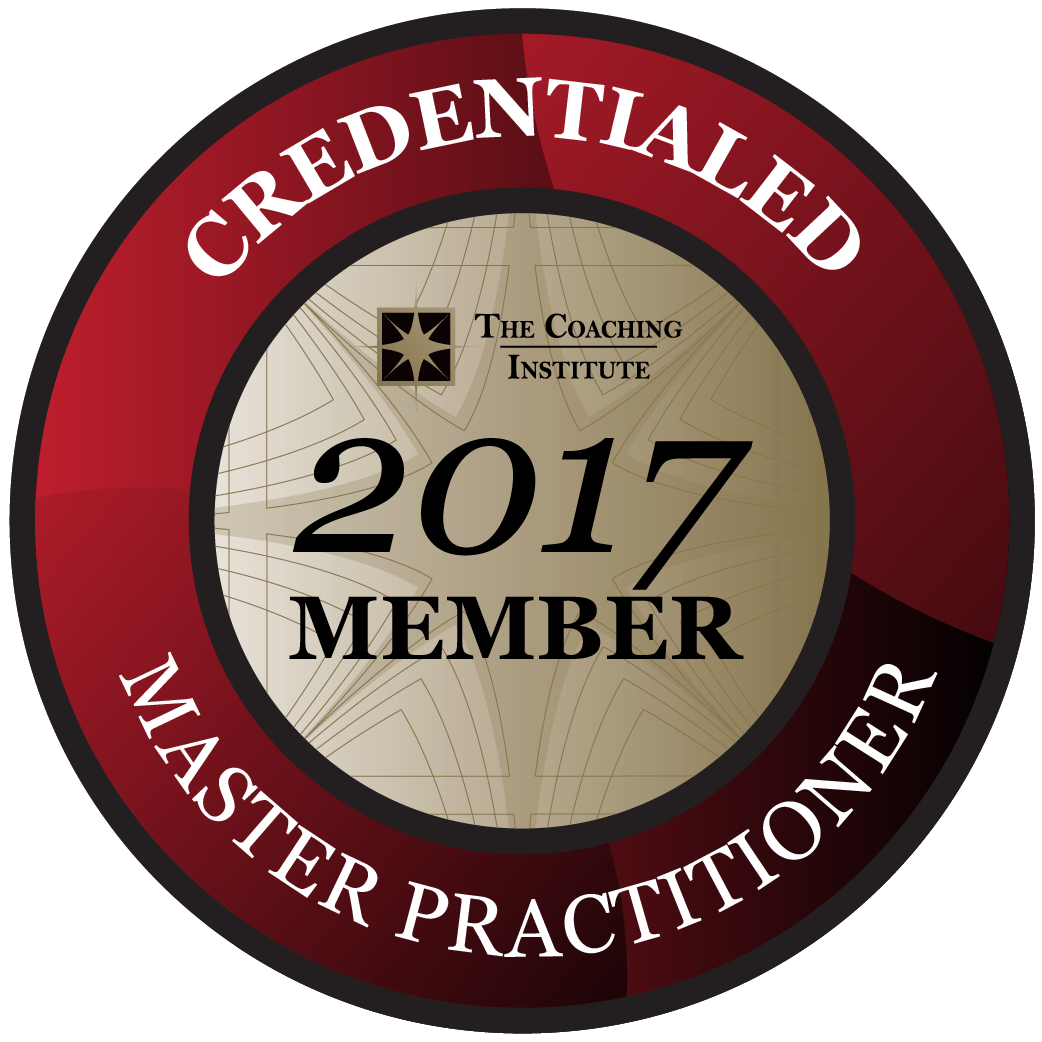 Credentialed Master Practitioner of Coaching 2017 Members Badge High Resolution
