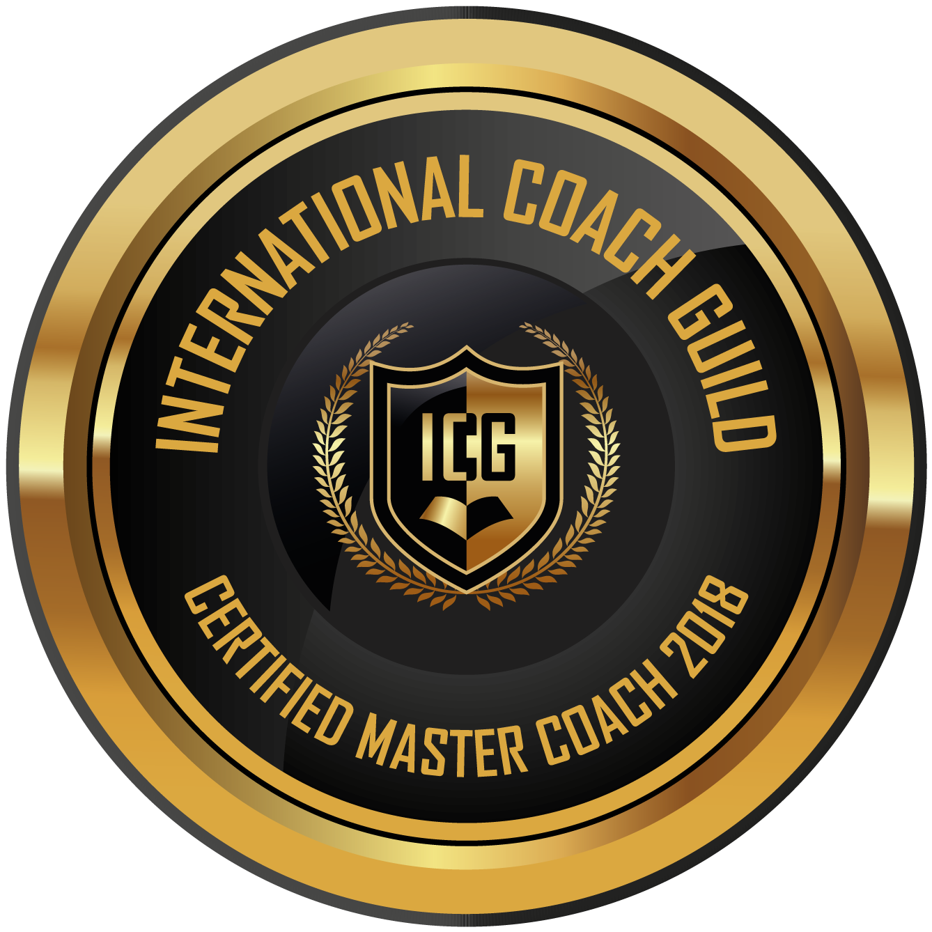 ICG Certified Master Coach 2018 Members Badge High Resolution