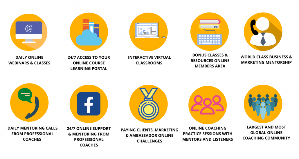 breakdown of what online learning solutions the coaching institute provides