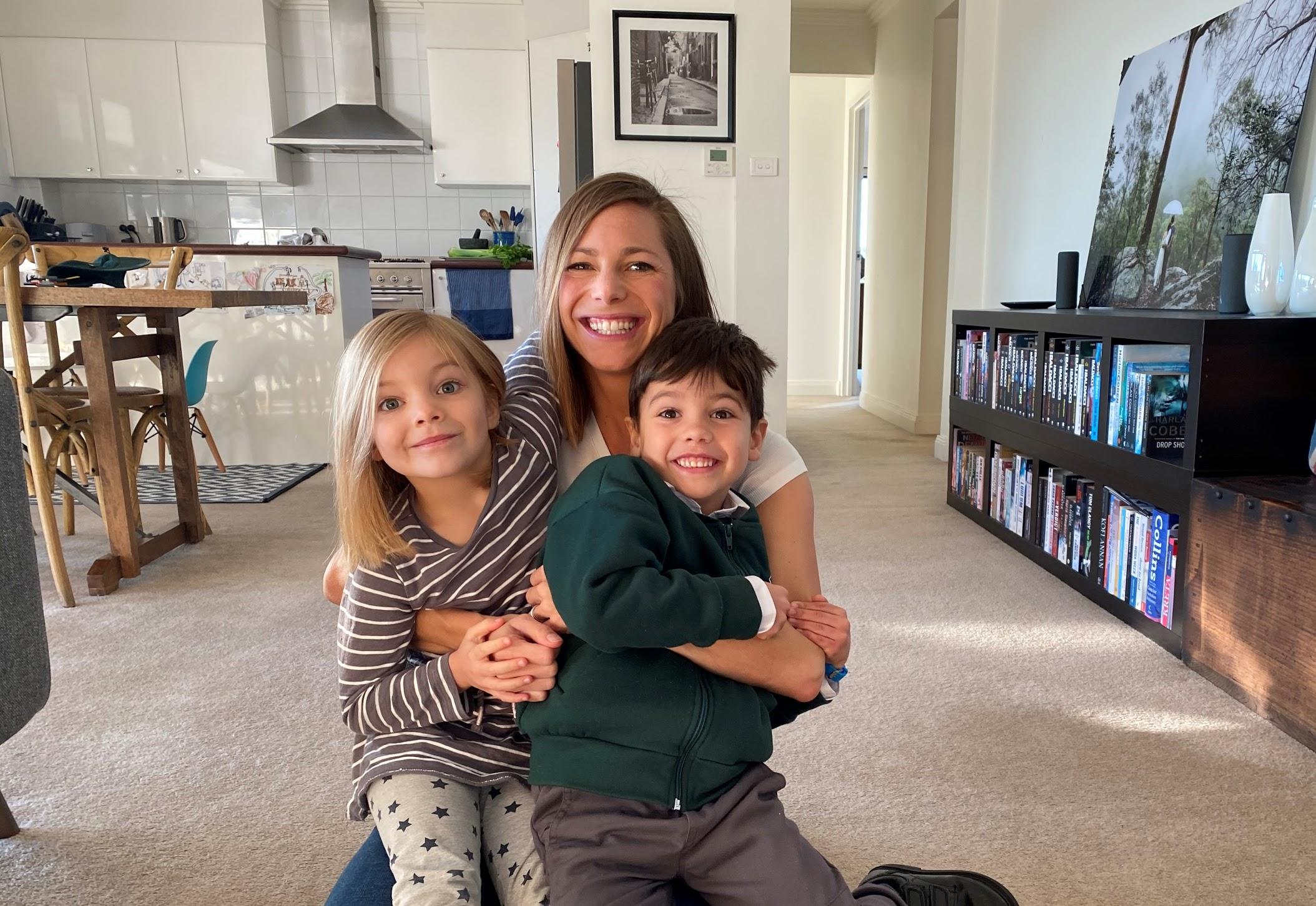 Felicity Alexander and kids