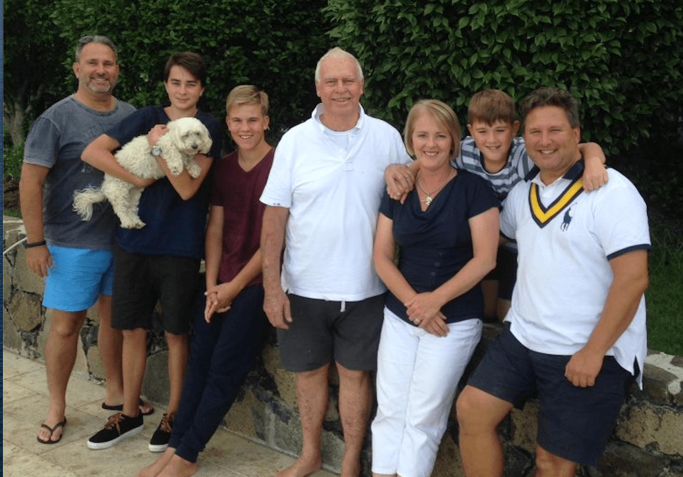 Steve Gregory family