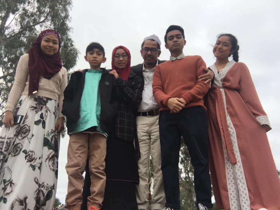 Yasmin Raja family