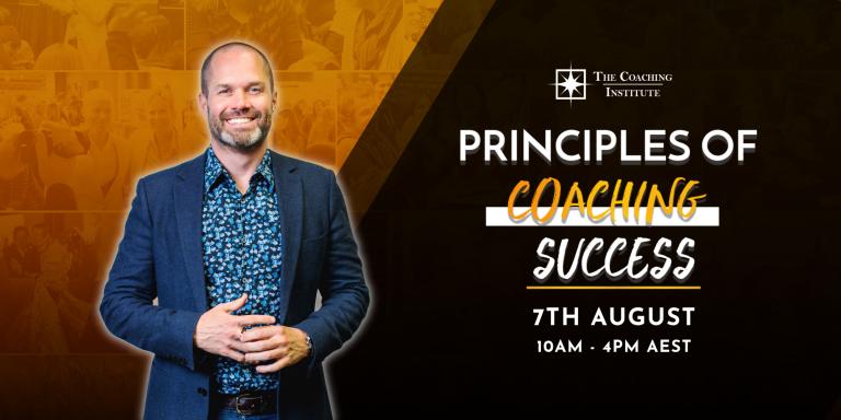 Principles of Coaching Success